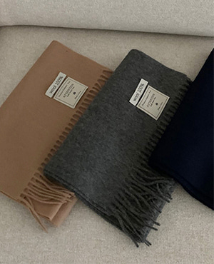 wool muffler (3color)